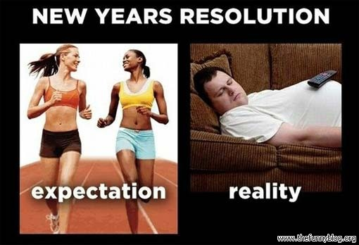 New Year's Resolution Failure