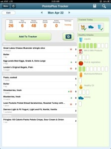 Daily diet 4/22/13 day 6