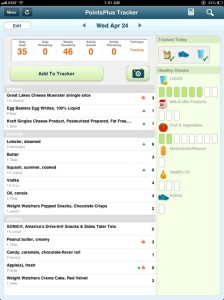 Daily diet 4-24-13 day 8