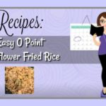 Easy 0 point Cauliflower Fried Rice